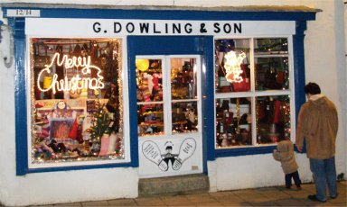 G Dowling & Son's windows right