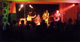 Rockus bands in the Parish hall