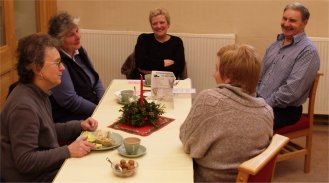 Christmas lunch in the Methodist Church